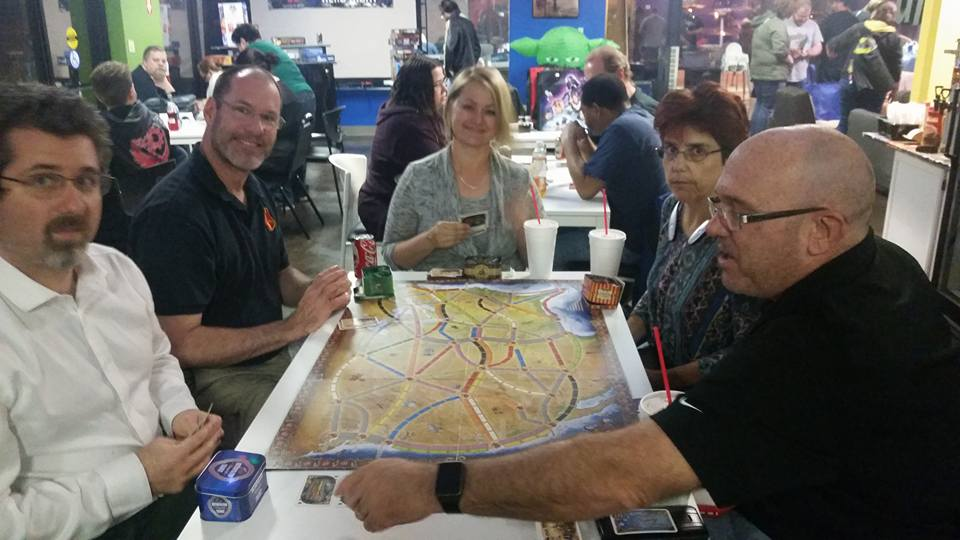 February Nerd Night - Ticket to Ride